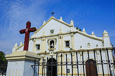 St. Paul Cathedral, Vigan, UNESCO World Heritage Site, Northern Luzon, Philippines, Southeast Asia, Asia
