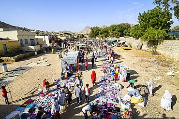 The colourful Monday market of Keren, Eritrea, Africa