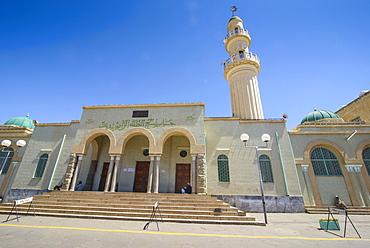 Al Quarafi al Rashidin Mosque in Asmara, capital of Eritrea, Africa