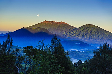 Early morning light at the Ijen Volcano, Java, Indonesia, Southeast Asia, Asia