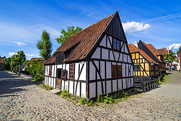 The Old Town, Den Gamle By, open air museum in Aarhus, Denmark, Scandinavia, Europe