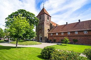 St. Catharina's Abbey in Ribe, Denmark's oldest surviving city, Jutland, Denmark, Scandinavia, Europe