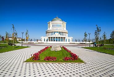 National Opera of Chechnya, Grozny, Chechnya, Caucasus, Russia, Europe