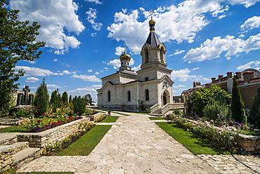 The old temple complex of old Orhei (Orheiul Vechi), Moldova, Europe