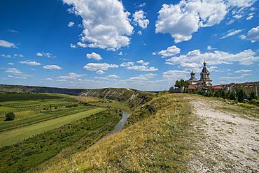 The historical complex of old Orhei (Orheiul Vechi), Moldova, Europe