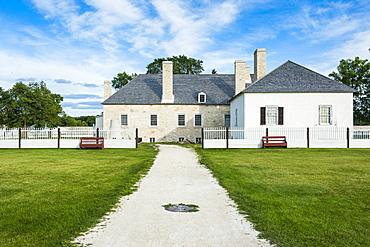 Upper Fort Garry, former Hudson's Bay Company trading post, Manitoba, Canada, North America
