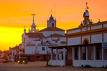 Rocio Village, National Park of Donana, Huelva, Andalucia, Spain.