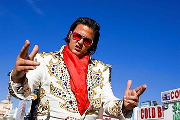 Elvis, Las Vegas, Nevada, USA