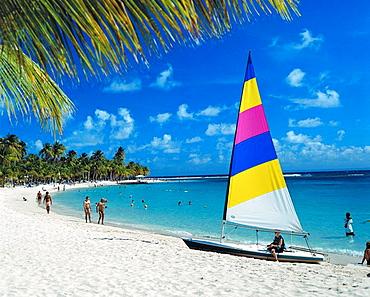 Sainte-Anne in Guadeloupe, Caribbean