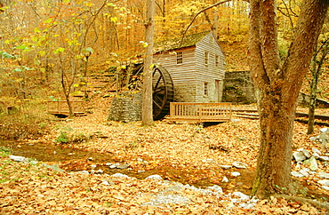 Grist Mill (18th century), Norris Dam State Park, Tennessee, USA
