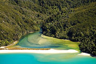 Sandfly Bay, Abel Tasman National Park, Nelson Region, New Zealand,