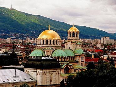 St, Alexander Nevsky Cathedral (1882-1912), Sofia, Bulgaria