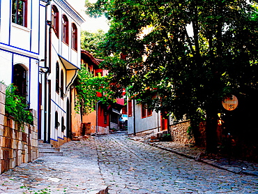 The old city Plovdiv, Bulgaria
