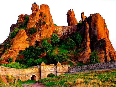 Kaleto fortress Belogradchik rocks Belogradchik Bulgaria