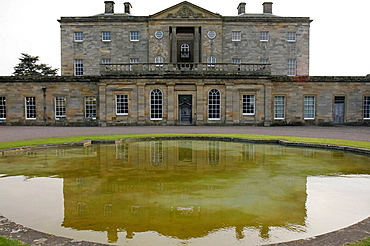 UK, England, Northumberland, Longhoughton, Howick Hall Gardens 1782, Earl Grey Tea House