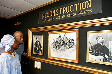 Alabama, Selma, National Voting Rights Museum and Institute, Civil Rights Movement, segregation, Black History, man, woman, couple, Reconstruction, politics,