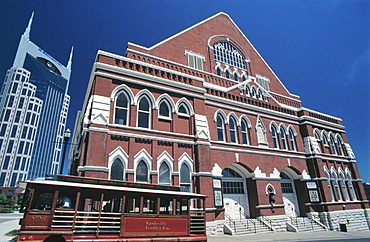 Ryman Auditorium, home of the Grand Ole Opry (1943-1974), Nashville, Tennessee, USA