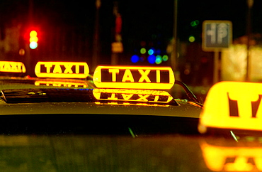 Taxis, Kurfurstendamm, Berlin, Germany
