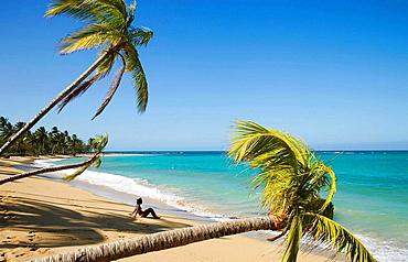 Caribbean Dominican Republic Samana Peninsula Las Terrenas Haitian Woman