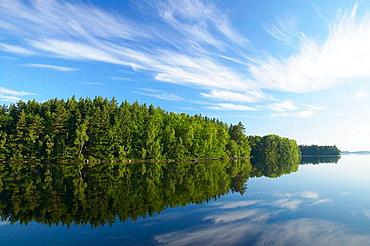 Morning over lake Immeln, Sweden
