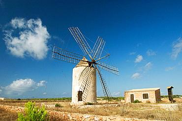 La Mola old windmill, Formentera, Balearic Islands, Spain
