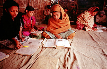 Kids at State school, Dhaka, Bangladesh