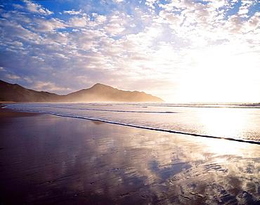 Sunrise at Kaiaua Beach East Coast New Zealand