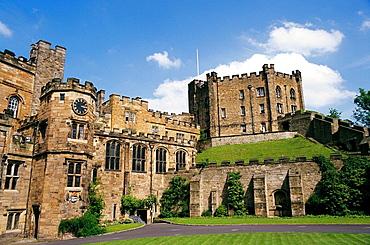 Durham castle, Northumbria, England