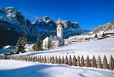 Colfosco, Val Badia, Dolomites, Italy