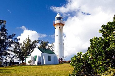 The Grand Turk Imperial Lighthouse in the Turks and Caicos Islands, British Overseas Territories, 2008
