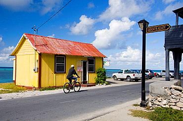 A souvenir shop in Cockburn Town, Grand Turk, Turks and Caicos Islands, British Overseas Territories, 2008