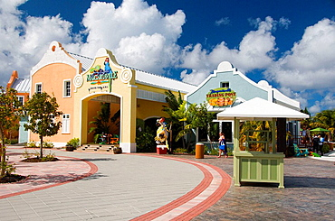 The Cruise Port Terminal in Grand Turk, Turks and Caicos Islands, British Overseas Territories, 2008
