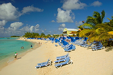 A tropical beach on Grand Turk, Turks and Caicos Islands, British Overseas Territories, 2008