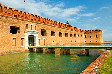 Entrance to Fort Jefferson and the Dry Tortugas National Park, Florida, USA, 2008