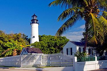 The historic Key West Lighthouse, Key West, Florida, USA, 2008