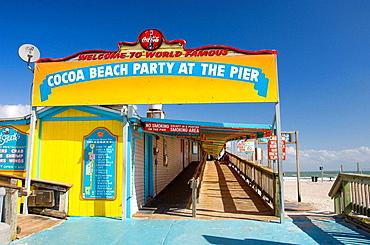 Cocoa Beach Pier, Cocoa Beach Florida, USA, 2008