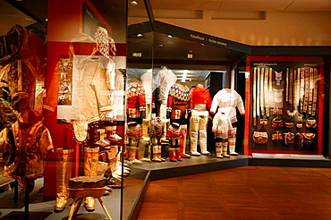 Traditional Clothing display at Greenland National Museum, Nuuk, Greenland