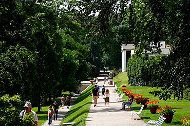 The Southern Gardens, Hradcany, the castle district, Prague, Czech Republic