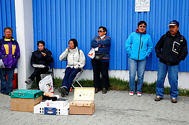 Street scene in Nuuk, Greenalnd