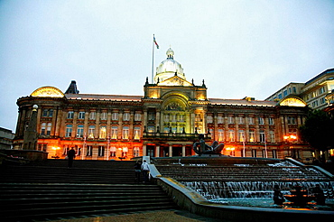 The Council House in Victoria Square, Birmingham, England, UK