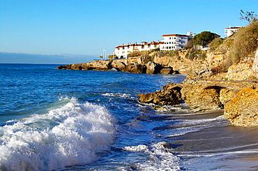 Nerja beach, La Axarquia, Malaga, Spain