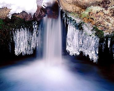 Icicles, Arthurs Pass National Park, New Zealand