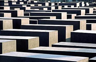 Holocaust memorial by Peter Eisenman, Berlin, Germany