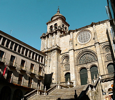 Cathedral, Ourense, Galicia, Spain
