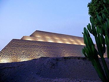 Museum of Huaca Huallamarca pre-Incan site, Lima, Peru