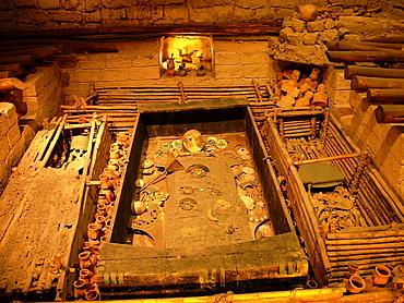 Sipan tomb, Museo de la Nacion de Lima, Peru