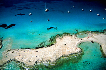 Es Trucadors, Ses Illetes beach, Formentera, Balearic Islands, Spain