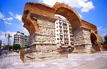 Arch of Galerius, Thessaloniki, Macedonia, Greece
