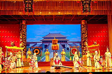 Tang dynasty palace music and dance, Grand Opera House, Xi'an city, Shaanxi province, China
