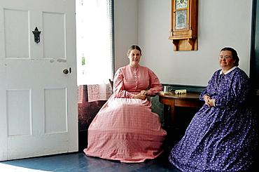 Robertson Home, Upper Canada Village, 1860s village, Heritage Park, Morrisburg, Ontario Province, Canada